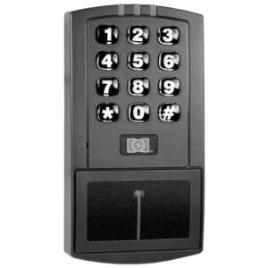 INTERNATIONAL ELECTRONICS 0-205676 IEI DOOR-GARD STAND ALONE HID PROXIMITY READER/KEYPAD