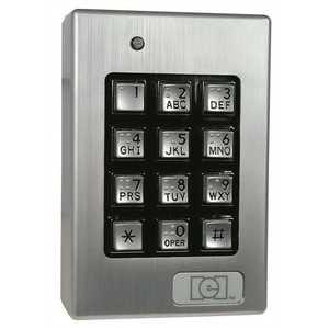 INTERNATIONAL ELECTRONICS 0-212140 IEI DOOR-GARD SEALED ENV. OUTDOOR KEYPAD SYSTEM, 120 USER
