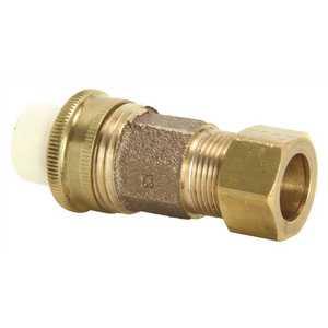 NIBCO C4733-7-LF 1/2 in. CPVC Lead Free Slip x Copper Alloy Compression Union