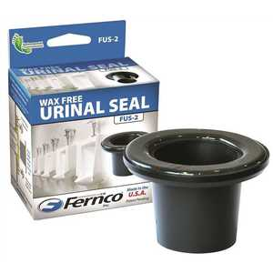 Fernco FUS-2 Wax Free Urinal Seal for 2 in. Drain Pipe Black