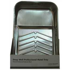 PRIVATE BRAND UNBRANDED RM435 Metal Deep-Well Paint Roller Tray
