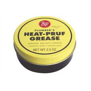RPM PRODUCTS GR1 PLUMBERS HEAT-PRUF GREASE STEM LUBRICANT 2-1/2 OZ