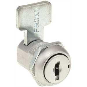 "Compx Security C1974-KA-1289 METAL DESK DRAWER LOCK 27/32"" STANDARD CAM KAA"