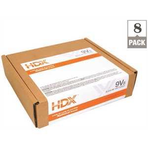 HDX 7181-8S Alkaline 9V Battery