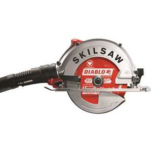 SKILSAW SPT67FMD-22 15 Amp Corded Electric 7-1/4 in. SIDEWINDER Circular Saw for Fiber Cement with Hardie Blade and Dust Collection System