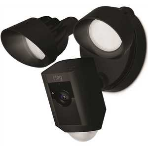 Ring 88FL001CH000 Outdoor Wi-Fi Cam with Motion Activated Floodlight, Black