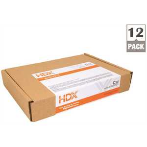HDX 7121-12S General Purpose Batteries Alkaline Size C 12 per pack