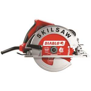 SKILSAW SPT67WM-22 15 Amp Corded Electric 7-1/4 in. Magnesium SIDEWINDER Circular Saw with 24-Tooth Diablo Carbide Blade
