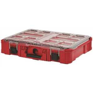 Milwaukee 48-22-8430 PACKOUT 11-Compartment Small Parts Organizer Red