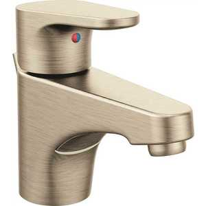 Cleveland Faucet Group 46101BN Edgestone Single Hole Single-Handle Bathroom Faucet in Brushed Nickel