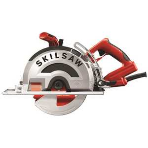 SKILSAW SPT78MMC-22 15 Amp Corded Electric 8 in. OUTLAW Worm Drive Saw for Metal with 42-Tooth Diablo Cermet-Tipped Blade