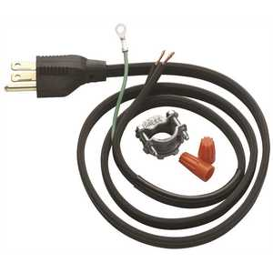 InSinkErator CRD-00 Power Cord Accessory Kit for InSinkErator Garbage Disposals Black