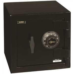 "AMSEC MS1414C-4505400 ""B"" RATE MINI SAFE WITH COMBINATION LOCK dark grey"