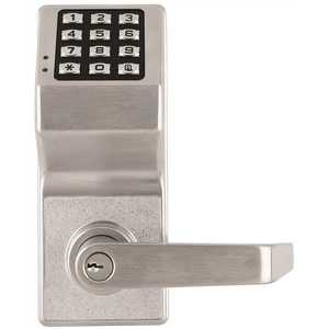 Alarm Lock DL2700 US26D Trilogy Electronic Digital Lever Lock Satin Chrome Finish