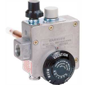 Robertshaw 110-202 NATURAL GAS WATER HEATER THERMOSTAT, 1.375-INCH SHANK, 4-INCH WATER CONNECTOR