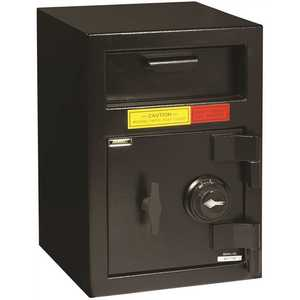 "AMSEC 9037188 (DSF2014C) ""B"" RATE FRONT LOAD DEPOSITORY SAFE WITH COMBINATION LOCK"