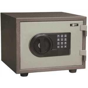 """AMSEC FS712E5LP E5LP ELECT LOCK SAGE 7""""X12"""" Black, Gray, Sage"""