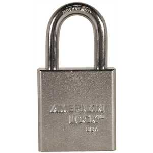 American Lock A5200 5200 Series 1-3/4 in. Solid Steel Padlock Body KD Triple Satin Chrome