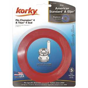 Korky 450CM Fits American Standard Champion 4 and Eljer Titan 4 Flush Valve Seal Red