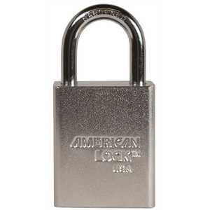 American Lock A5100 1-1/2 in. Padlock Solid Steel Body KD