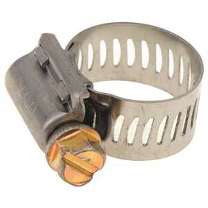 Breeze Clamp 62006 HOSE CLAMP, STAINLESS STEEL, 7/16 IN. TO 25/32 IN - pack of 10