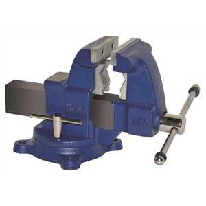 Yost 45C 4-1/2 in. Medium Duty Tradesman Combination Pipe and Bench Vise - Swivel Base