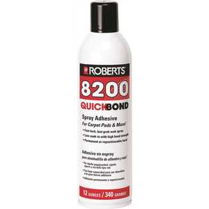 Roberts 8200-12 Quick Bond 12 oz. Spray Adhesive White