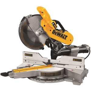 DEWALT DWS780 15 Amp 12 in. Double Bevel Sliding Compound Miter Saw Yellow
