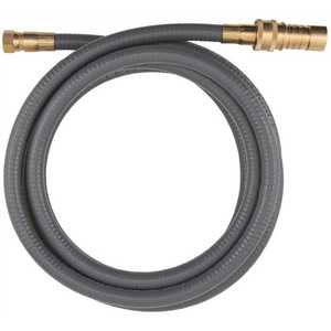 Dormont 30D-10QD PORTABLE OUTDOOR GAS CONNECTOR, QUICK DISCONNECT FITTING, 1/2 IN. X 10 FT