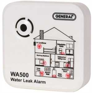National Brand Alternative WA500 WATER LEAK ALARM White