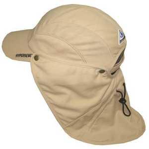 HyperKewl 6596KH Khaki Ultra Sport Cooling Hat with Detachable Cooling Neck Shade