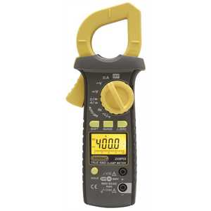GENERAL TOOLS MANUFACTURING DAMP68 400 Amp AC/DC Auto Ranging Clamp Meter with True RMS