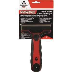 American Line 65-0002-0000 Smart Edge Wide Blade Glass and Tile Scraper