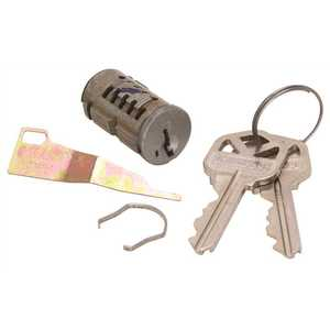Kwikset 29700 SA CYL LVR SLVR SmartKey Security Entry Cylinder Silver