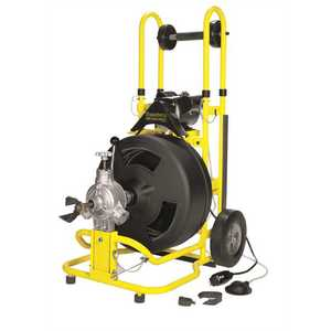 COBRA ST-620 SPEEDWAY POWER AUGER DRAIN CLEANING MACHINE, 5/8 IN. X 100 FT. CABLE