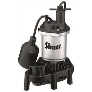 STA-RITE 2161 PENTAIR WATER PUMPS ZINC SUMP PUMP WITH PLASTIC BASE, TETHERED SWITCH, 1/4 HP
