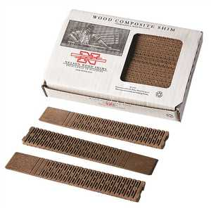 Nelson Wood Shims WC8/32/15/50LA COMPOSITE SHIMS, 8 IN., 32 SHIMS PER BUNDLE white Pack of 32