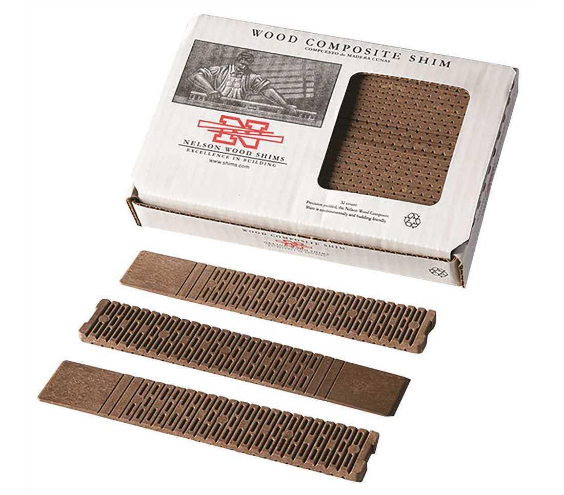 Composite Wood Shims Bundle Pack