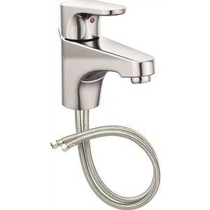 Cleveland Faucet Group 46102 Edgestone Single Hole Single-Handle Bathroom Faucet with Drain Assembly in Chrome