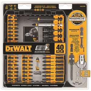 DEWALT DWA2T40IR 40-PC. IMPACT READY(R) SCREWDRIVING SET