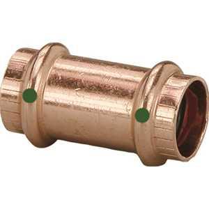 Viega 78197 ProPress 2 in. x 2 in. Copper Coupling No Stop