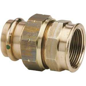 Viega 79705 3/4 in. x 3/4 in. Zero Lead Bronze Union