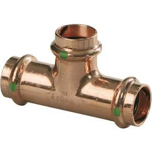 ProPress 3/4 in. x 1/2 in. x 3/4 in. Copper Tee Pack of 5