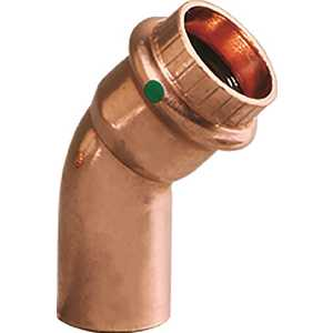 ProPress 1/2 in. x 1/2 in. Copper 45-Degree Street Elbow Pack of 10