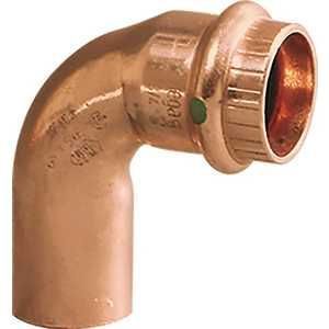 ProPress 3/4 in. x 3/4 in. Copper 90-Degree Street Elbow Pack of 10