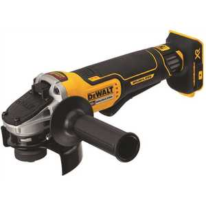 DEWALT DCG413B 20-Volt MAX XR Lithium-Ion Cordless Brushless 4-1/2 in. Paddle Switch Small Angle Grinder w/ Kickback Brake (Tool-Only)