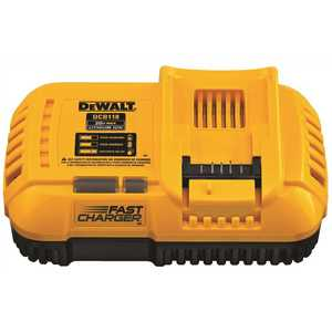 DEWALT DCB118 20-Volt MAX Lithium-Ion Fan Cooled Fast Battery Charger Yellow