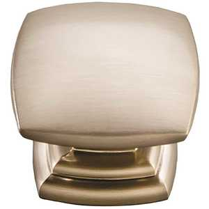 Hickory Hardware P2163-SS Euro-Contemporary 1-1/2 in. Stainless Steel Cabinet Knob