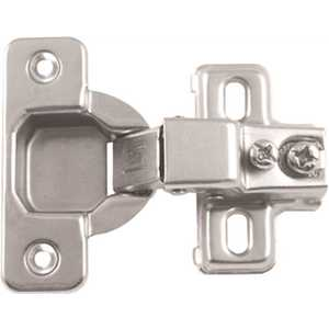 Ultra Hardware 34868 Half Overlay 120 Opening Concealed Hinge For Framed Cabinets
