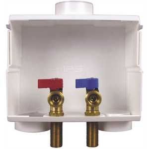 IPS Corporation 82052 DU All Washer Dual Drain Outlet Box